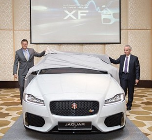 Alfardan Premier Motors Reveals the All-New Jaguar XF in Qatar