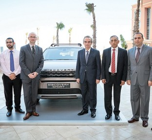 Alfardan Premier Motors Shows Off New Discovery Sport