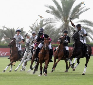 The 10th Cartier International Dubai Polo Challenge