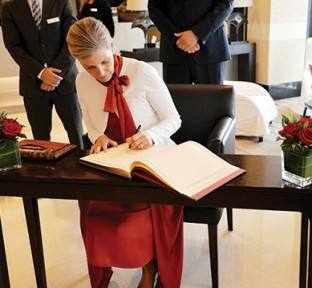 Oryx Rotana Welcomes HRH Countess of Wessex on World Sight Day