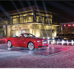 Rolls-Royce Dawn Introduced to Customers in Qatar