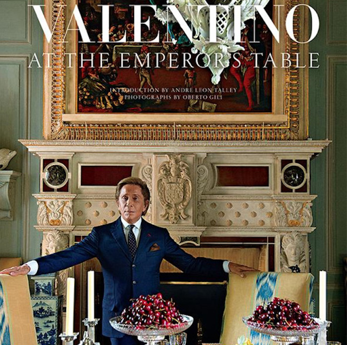 At the Emperor's Table with Valentino Garavani