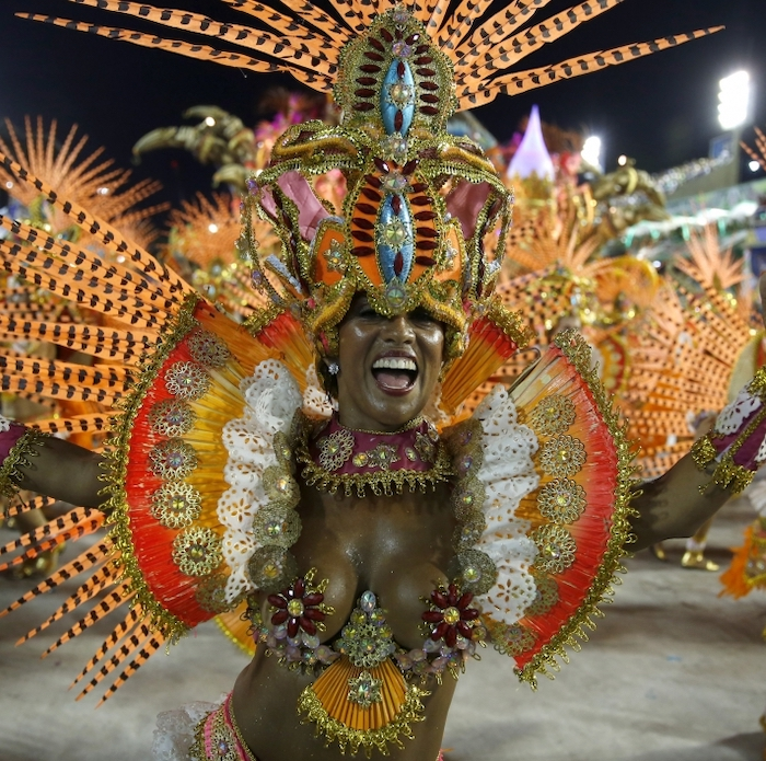 The Many Colors Of The Rio Carnival
